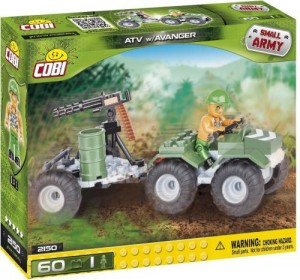 2150 Cobi Small Army - ATV w/Avanger