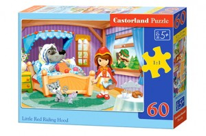 B-06915 Castorland - Little Red Riding Hood 60 el.