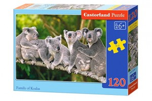 B-13289 Castorland - Family of Koalas 120 el.