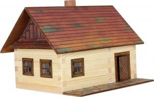 W02 WALACHIA Hobby Kit - Log Cottage 100 el.