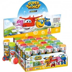 67409 Bańki Mydlane 60 ml - Super Wings