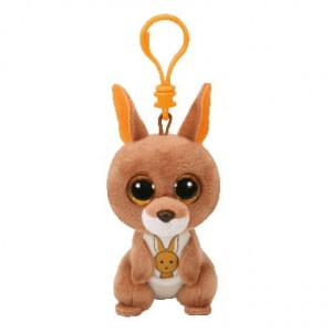 36884 Beanie Boos KIPPER - brown kangaroo