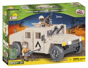 24303 Cobi Small Army -  NATO Armored ALL-Terrain Vehicle Desert Sand