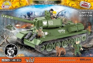 2486 Cobi Small Army - Rudy 102 T-34/85