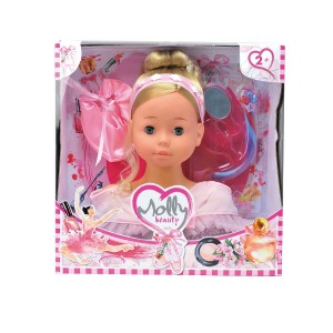 BD1366 Smily Play - Głowa do czesania Molly Balerina