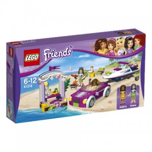 41316 LEGO Friends - Transport motorówek Andrei