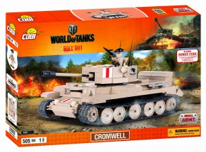 3002 Cobi World of Tanks - Cromwell